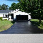 residentail driveway repair and sealcoat